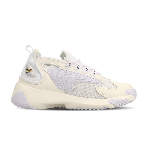 Nike 慢跑鞋 Wmns Zoom 2K 白 米白 復古 運動鞋 女鞋【PUMP306】 AO0354-101