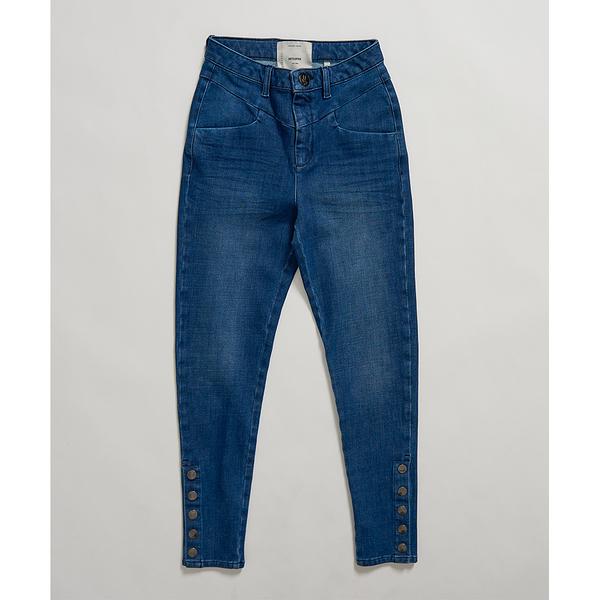 ONETEASPOON  WW  ORGANIC INDIGO PREACHERS HIGH WAIST SKINNY JEAN  牛仔褲-藍(女)