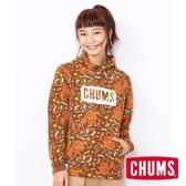 CHUMS 日本 女 Logo 連帽套頭衫 印花/復古花紋 CH101114Z104