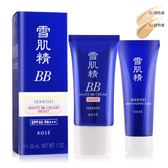 KOSE 高絲 雪肌精潤白保濕BB霜(28ml/30g)#01+洗顏霜(25g)