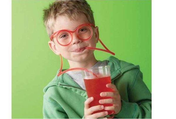 創意搞怪眼鏡吸管 卡通吸管 DIY趣味眼鏡【限用冷飲】顏色隨機發貨
