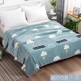 單人毛毯 兒童學生午睡空調毯季床單辦公室護膝珊瑚絨毯子法蘭絨毛毯蓋毯 快速出貨