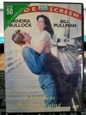 挖寶二手片-Z83-023-正版DVD-電影【二見鍾情】-珊卓布拉克 比爾普曼(直購價)經典片 海報是影印