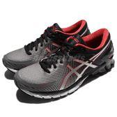 【六折特賣】Asics 慢跑鞋 Gel-Kinsei 6 黑 紅 頂級款跑鞋 金星 運動鞋 男鞋【PUMP306】 T644N-9793