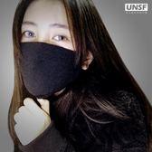 防塵口罩透氣可清洗易呼吸黑色純棉口罩女防霧霾男潮款個性韓版