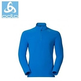 【速捷戶外】瑞士ODLO 222012超細纖維長效保暖中層衣-(男 鈷藍) 冬季必BUY 限量7折體驗價