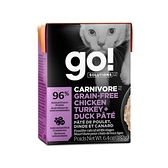 go! 鮮食利樂貓餐包 豐醬系列 無穀四種肉182g 12件組
