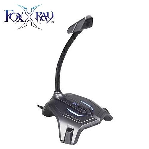 【FOXXRAY 狐鐳】灰鐵響狐電競麥克風(FXR-SUM-03)