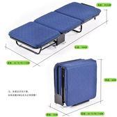 辦公室午休沙發床家用三折木板海綿沙發床加固成人簡易午睡WY 【快速出貨】