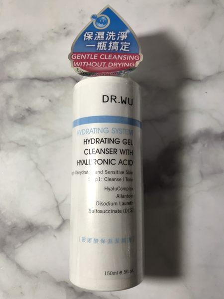 DR.WU 玻尿酸保濕潔顏露150ML 效期2021【淨妍美肌】