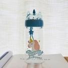 韓國創意潮流水杯獨角獸玻璃杯便攜隨手杯學生清新文藝軟妹杯子
