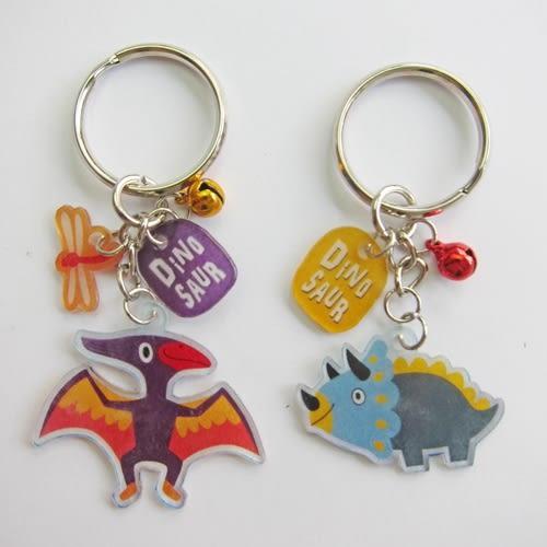 【米力設計】熱縮片鑰匙圈材料包-翼手龍與三角龍