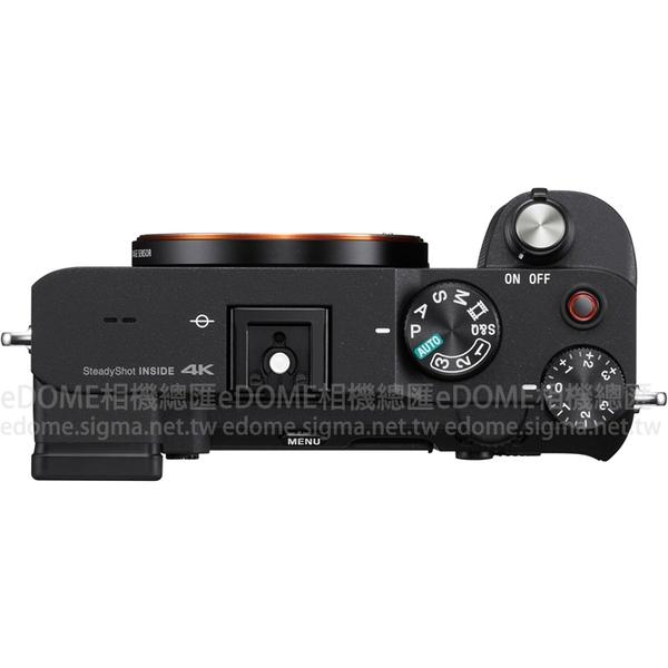 SONY a7C 黑色 附SIGMA 85mm F1.4 DG DN Art (24期0利率 免運 公司貨) ILCE-7C 全片幅 防手震 微單眼