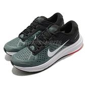 Nike 慢跑鞋 Air Zoom Structure 23 海藻綠 黑 白 路跑 男鞋【ACS】 CZ6720-300