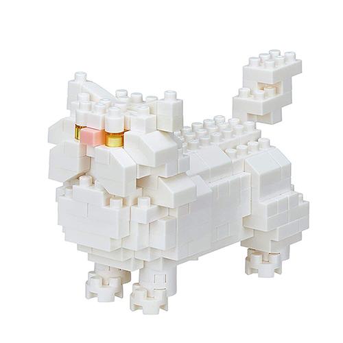 《 Nano Block 迷你積木 》【 可愛動物系列 】NBC-267 波斯貓╭★ JOYBUS玩具百貨