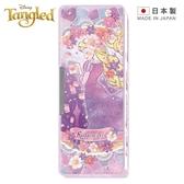【 日本製 】日本限定 迪士尼公主系列 長髮公主&樂佩 花系版 雙面 筆盒 / 鉛筆盒