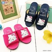 童鞋城堡--兒童室內童拖 靜音拖鞋 Charmmy Kitty 魅力貓 CK2729-粉/藍 (共二色)