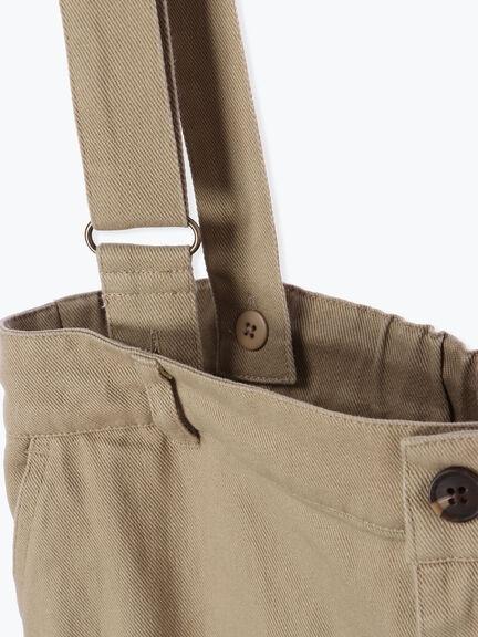「Spring」率性測綁帶吊帶褲 (提醒 SM2僅單一尺寸) - Sm2