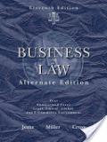 二手書博民逛書店《Business Law, Alternate Edition