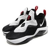 Nike 籃球鞋 Lebron Soldier XIV EP 黑 白 男鞋 運動鞋 士兵 14代 【ACS】 CK6047-002