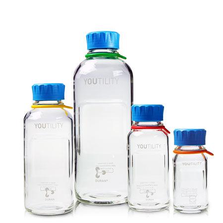 《DURAN/SCHOTT》YOUTILITY 血清試藥瓶 GL45 Bottle, Media, Screw Thread, GL45 PP Cap