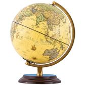 地球儀 25Cm仿古學生用地球儀擺件家居擺設高清地球儀台燈YYP 俏女孩