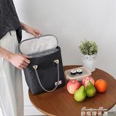 便當袋 三層加厚防水環保冷藏包密封鋁箔保溫便當包袋午餐包時尚背奶 麥琪精品屋