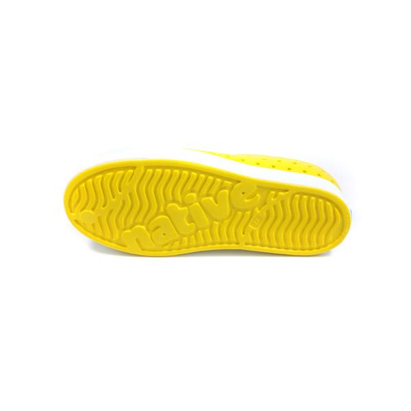 native JEFFERSON 懶人鞋 洞洞鞋 黃色 童鞋 12100100-7521 no002