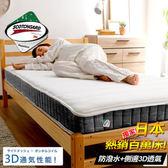ASSARI-3M恆溫3D透氣獨立筒床墊(雙人5尺)