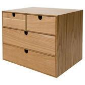 木質三層收納盒 NATURAL WOOD NA NITORI宜得利家居