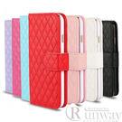 【R】簡約菱格紋皮套三星 S7 手機套 ...