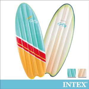 INTEX衝浪板造型浮排178x69cm-2色可選(58152)米白