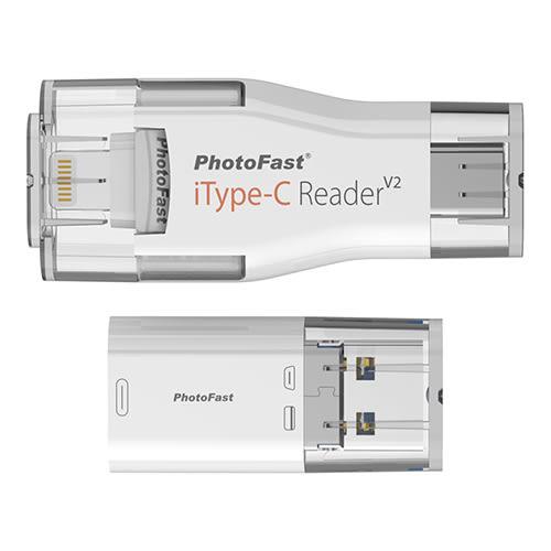 PhotoFast iType-C 64G Lightning/Type-C/USB 四合一 雙頭龍隨身碟