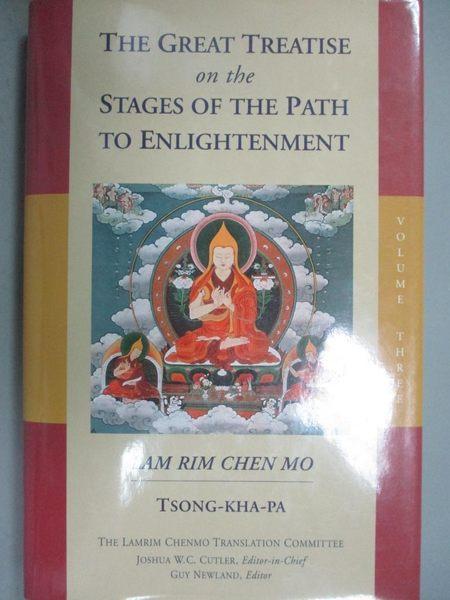 【書寶二手書T1/宗教_ZDT】The Great Treatise on the Stages of the Path…