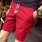 多色素面五分短褲-8色 M-4XL碼【CM65007】