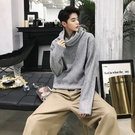 FINDSENSE G6 韓國時尚 秋冬百搭套頭加厚衛衣純色青年復古原宿風寬鬆高