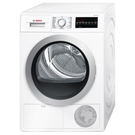 BOSCH 德國 博世 WTG86401TC 冷凝式乾衣機 (歐規8kg) 【零利率】220電壓.不排熱風