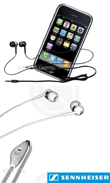 大出清【英大公司貨】SENNHEISER FOR iPHONE耳塞式式耳機MM-50i