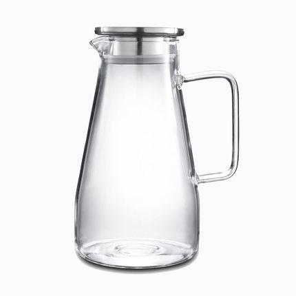 冷水壺 玻璃水壺耐熱涼水壺家用冷水壺耐高溫涼水杯大容量涼茶水壺