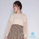 「Autumn」蕾絲繡花針織衫 - ea...