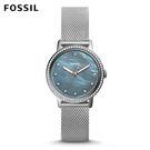 .FOSSIL 官方旗艦店  .亮麗的圓形錶盤搭配之下  .誕生時尚百搭的經典錶款