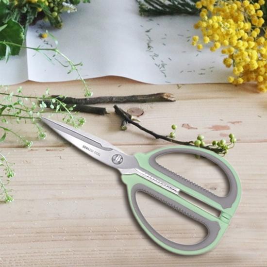 不銹鋼 剪刀 勞作剪刀 廚房剪刀 園藝剪刀 DIY 縫紉剪刀 食物剪 省力萬用剪刀【N115】慢思行