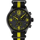 TISSOT天梭 韻馳系列 環法自行車賽特別款計時手錶-45mm T1166173705700