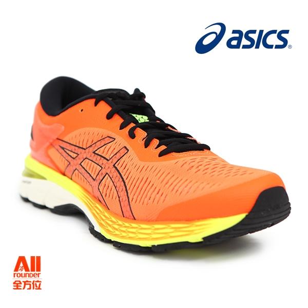 【asics亞瑟士】男款慢跑鞋 GEL-KAYANO 25- 艷橘黃(1011A019800)【全方位運動戶外館】