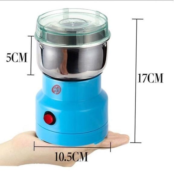 研磨機磨粉機粉碎機家用五谷雜糧電動磨粉機咖啡打粉機磨豆機110V可用 安雅家居館