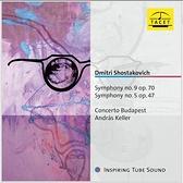 【停看聽音響唱片】【CD】蕭士塔高維契:第五、九號交響曲