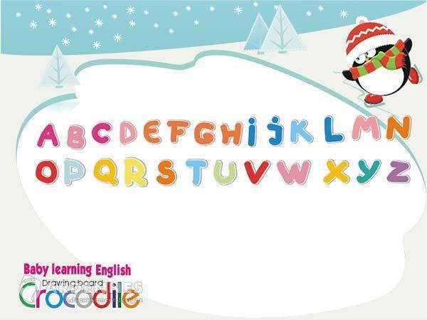 【ARDENNES】寶貝學習牆貼/ABC學習/卡通牆貼(大) TEC034 可圈選 溜冰高手