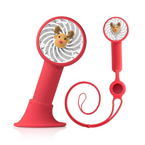 Bone Collection 頸掛桌立兩用風扇 手持風扇 USB風扇 頸掛雙用風扇 Lanyard Fan 麋鹿先生