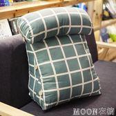 帶頭枕靠枕床頭靠墊背三角抱枕沙發辦公室飄窗腰枕腰靠護腰墊枕頭YYJ   MOON衣櫥