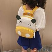 寶寶書包雙肩帆布嬰幼兒園可愛小卡通男女兒童背包【淘夢屋】